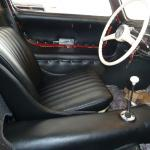 Mercedes Gullwing 300 SL Authentieke interieur-restauratie